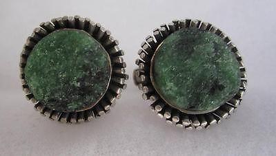 Reino Saastamoinen, vIntage modernist sterling silver and quartz druzy cufflinks, 1974. #Finland
