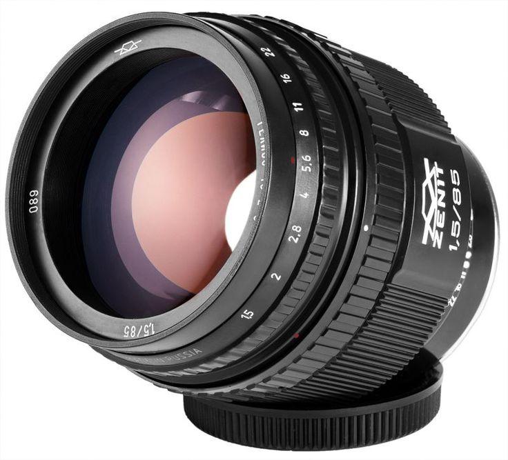 Объектив Гелиос 40-2H MC 85mm f/1.5 для Nikon новый дизайн  ―  Fotofishka.ru - интернет магазин фототехники