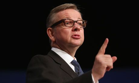 17.05.13: Guardian: Sats girl takes Michael Gove, the comma chameleon, to task