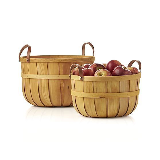 Orchard Small Basket  | Crate and Barrel