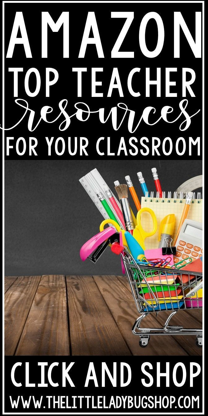 Top Amazon Teacher Resources for the Classroom | s c h o o l