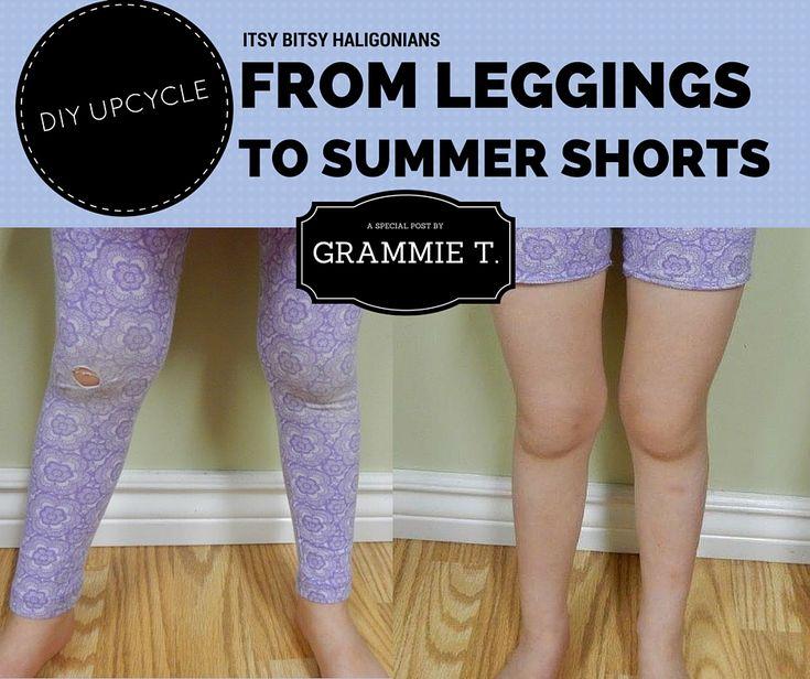 From Leggings to Summer Shorts DIY —