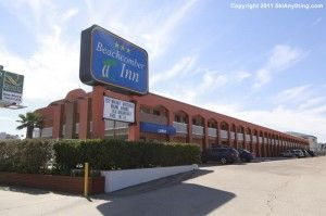 The Beachcomber Inn In The Middle Of Galveston Island,stayed here recently,good clean motel..one block from beach