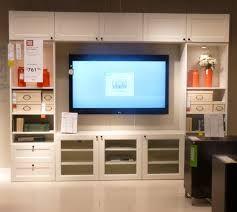 TV ON RIGHT BEHIND DOORS, FP WHERE TV IS? LIKE THE LIGHTING. Ikea Besta  entertainment unit $1310 | Habitation | Pinterest | Doors, Basements and  Playrooms
