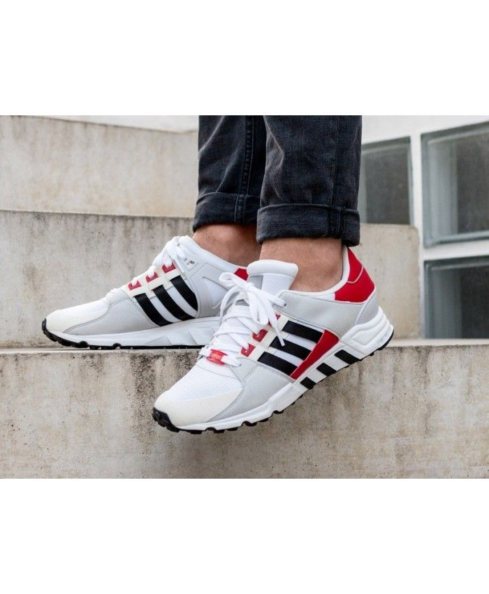 Adidas Equipment Support RF Trainers In White Black Red | Adidas ...