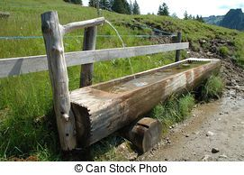 old wooden water troughs for sale canada - Google Search