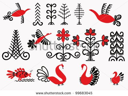 44 Best Images On Pinterest Russian Folk Art Decorative