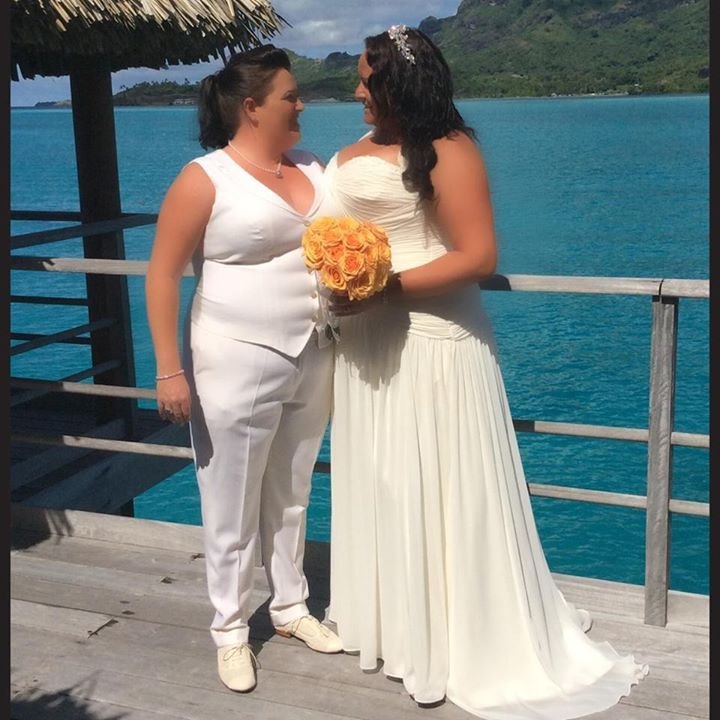 Step out in style for your weddings #LGBT #samesexmarriage #wedding #lesbian