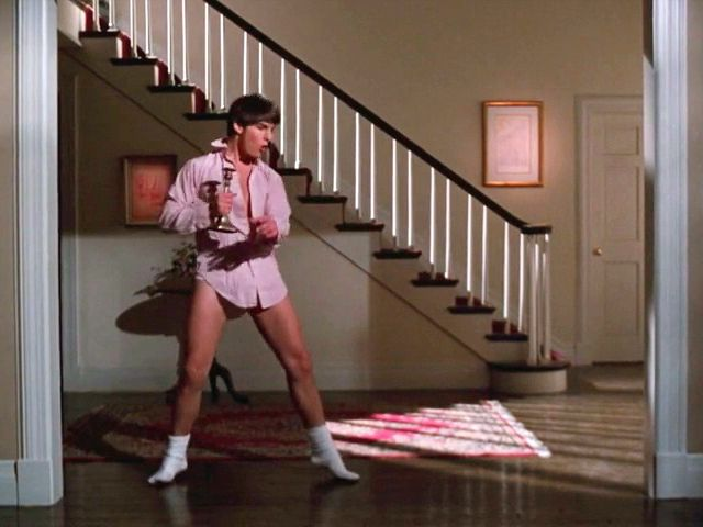 Tom Cruise, Risky Business, Old Time Rock & Roll #80's