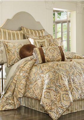 J Queen New York Spice Serenity California King Comforter Set