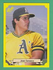 1987 Classic Travel Update Yellow Jose Canseco Oakland Athletics #125 (KCR)