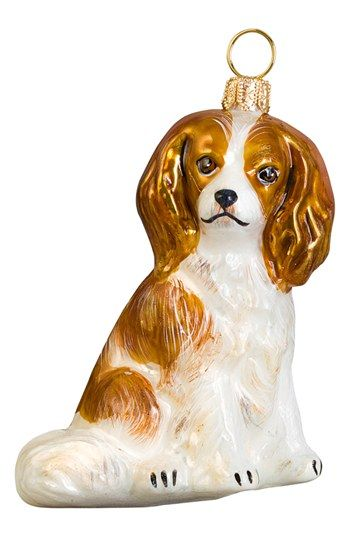 Joy to the World Collectibles Blenheim Cavalier King Spaniel Ornament  available at #Nordstr… | { Charlie The Cavalier- Cavalier King Charles  Spaniels } ... - Joy To The World Collectibles Blenheim Cavalier King Spaniel