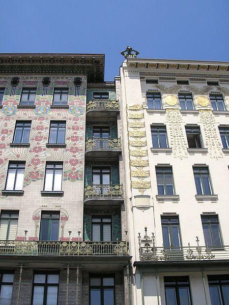 Popular Gallery of AD Classics Majolikahaus Otto Wagner