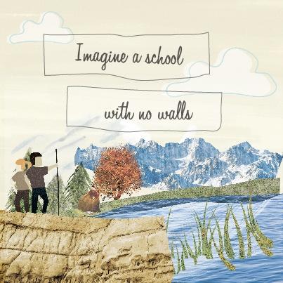 Imagine a school with no walls...