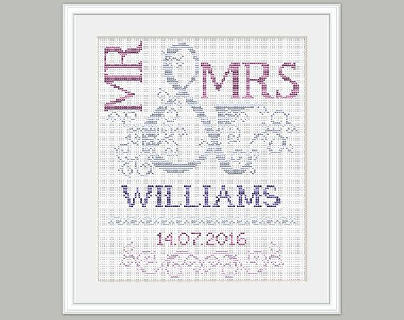 Hey, I found this really awesome Etsy listing at https://www.etsy.com/uk/listing/226089853/scheme-for-cross-stitch-wedding-cross