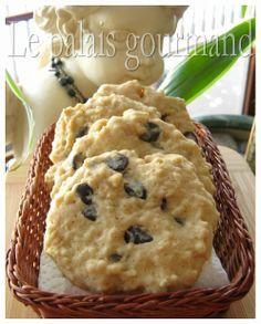Le palais gourmand: Biscuits au gruau, à l'érable et aux brisures de chocolat
