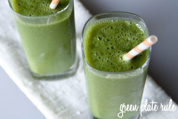 Orange Pear Kale Smoothie