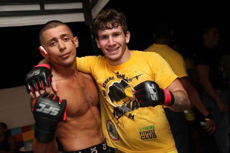 Sebastian Sanchez y Alejandro Abomohor. SFC011 desde Barranquilla. #MMA #Colombia #Fighters