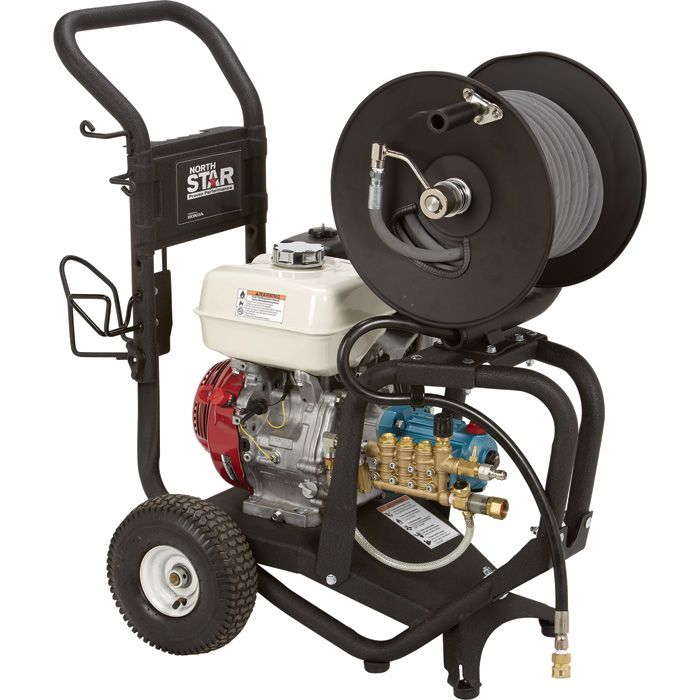 This NorthStar® Pressure Washer Accessory Kit gives you everything you need to maximize your pressure washer's efficiency.