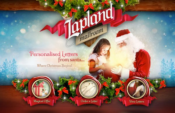 My review for the Lapland Mailroom Santa Letters