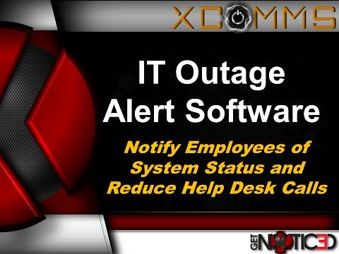 11 best outage notification communication tools images on for Incident alert template