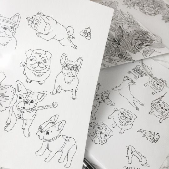 Coloring Book By Yeah Bunny