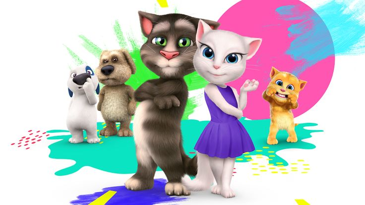 Mein Talking Tom – Android-Apps  auf Google Play
