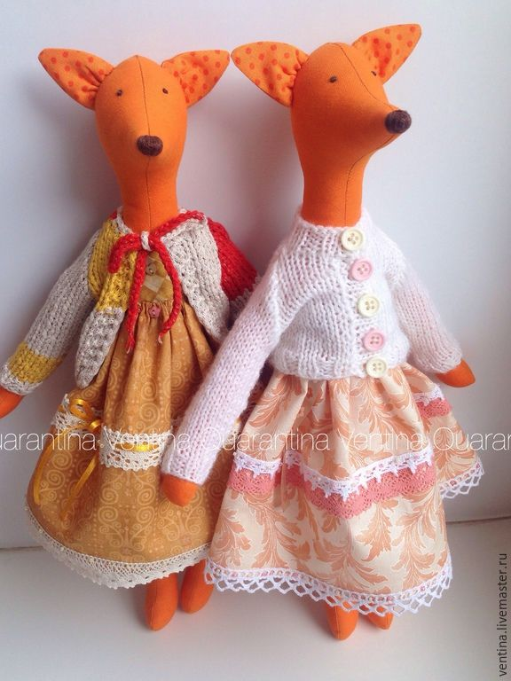Купить Лисонька Cinnamon - рыжий, лиса, лисичка, Лисонька, лиса игрушка, лиса тильда