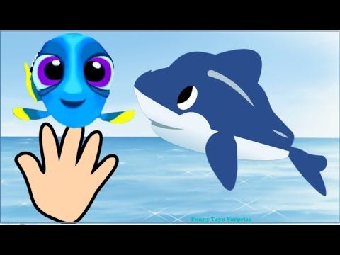 Finger Family Song Finding Dory Movie Cartoon Animation TV Nursery Rhymes for Children Kids Toddlers - YouTube