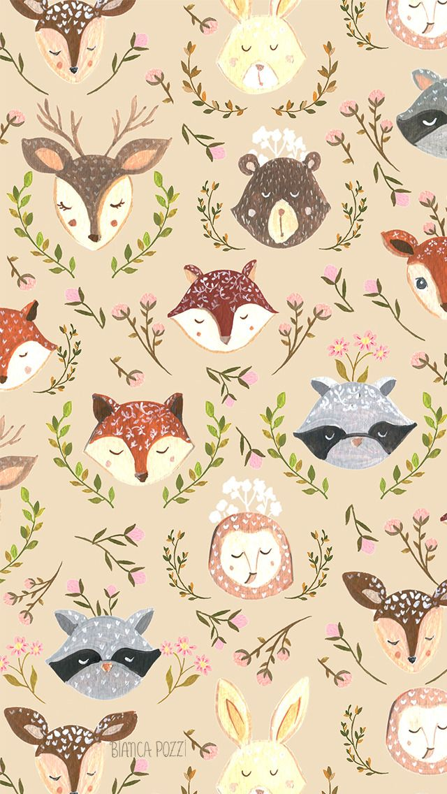 Cute forest animals :)