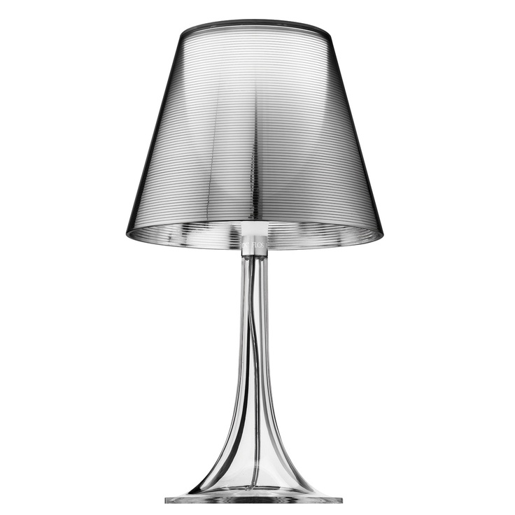 #classic Miss K Table Lamp Silver by Philippe Starck #industrial #design