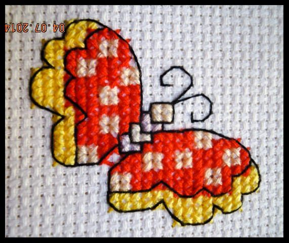 Punto de cruz / cross-stitch
