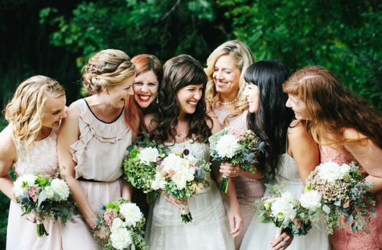 Fun picture for the bride and her bridesmaids...
