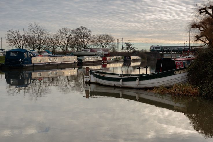 Narrowboats artwork prints, framed photos Ely city Cambridgeshire