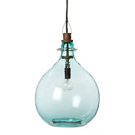 glass jug pendant: Pendants Lamps, Blue Glasses Pendants Lights, Terrain Glasses, Glasses Jug, Sales Shops, Jug Pendants, Pendants Shopterrain, Shops Houses Hom, Glasses Lights