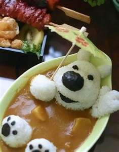 cute curry rice
