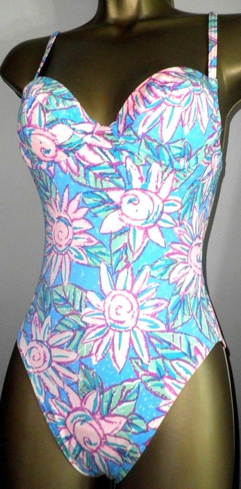 60ca012791312 SEXY LADIES FANTASIE PINK MIX PADDED UNDERWIRED SWIMSUIT SIZE 8 #fashion # clothing #shoes