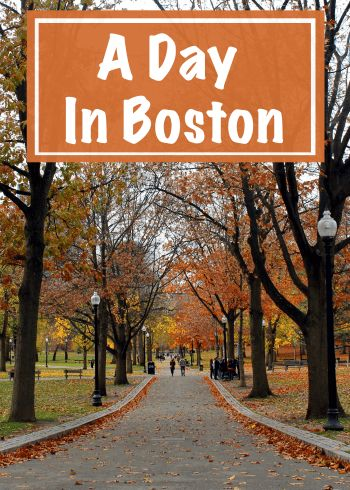 When there is so much to see and do and so little time, how do you possibly decide? Read the full article to see how I suggest you spend a day in Boston, Massachusetts, USA. Recommendations include Skywalk Observatory, Boston Common and Public Garden, Faneuil Hall and the Quincy Market, and more. Don't forget to pin this to your travel and United States boards! | #Boston #Massachusetts #UnitedStates