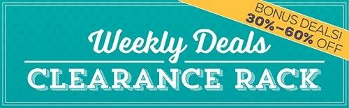 NEW Stampin' Up! Weekly Deals & My Pick of the Week!