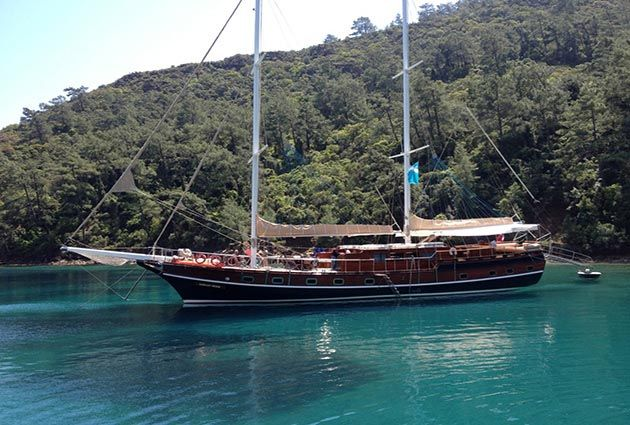 The yacht Kubilay Sezen, a 30 meter long luxury gulet with 8 cabins and a crew of 4, will be proud to welcome you on board this summer.