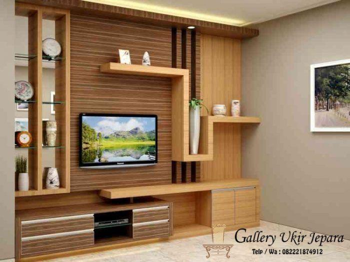 Lemari Partisi Penyekat Ruangan Decor Home Tv Unit