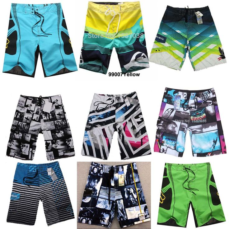 Summer Surfing Men Board Shorts Quick-drying Shorts Sport Board Shorts Swim Wear Swimwear Short  Beach Wear Surf Swimming Trunks