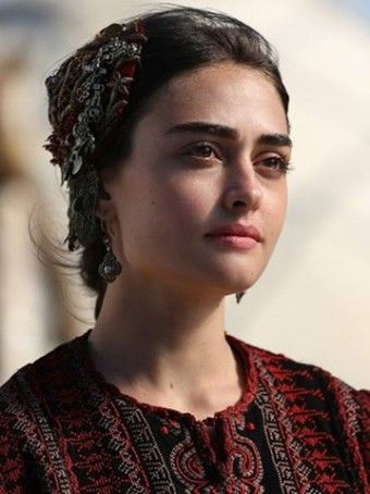 Esra Bilgiç -Turkish woman portrait