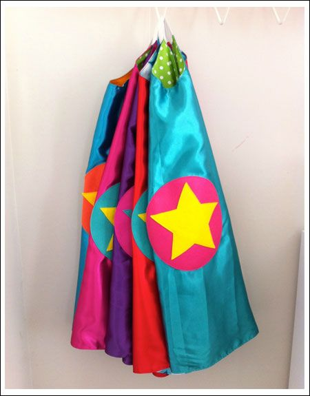 Kids superhero cape