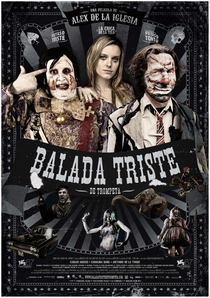 Official theatrical movie poster ( of for The Last Circus [aka Balada triste de trompeta]. Directed by Álex de la Iglesia.