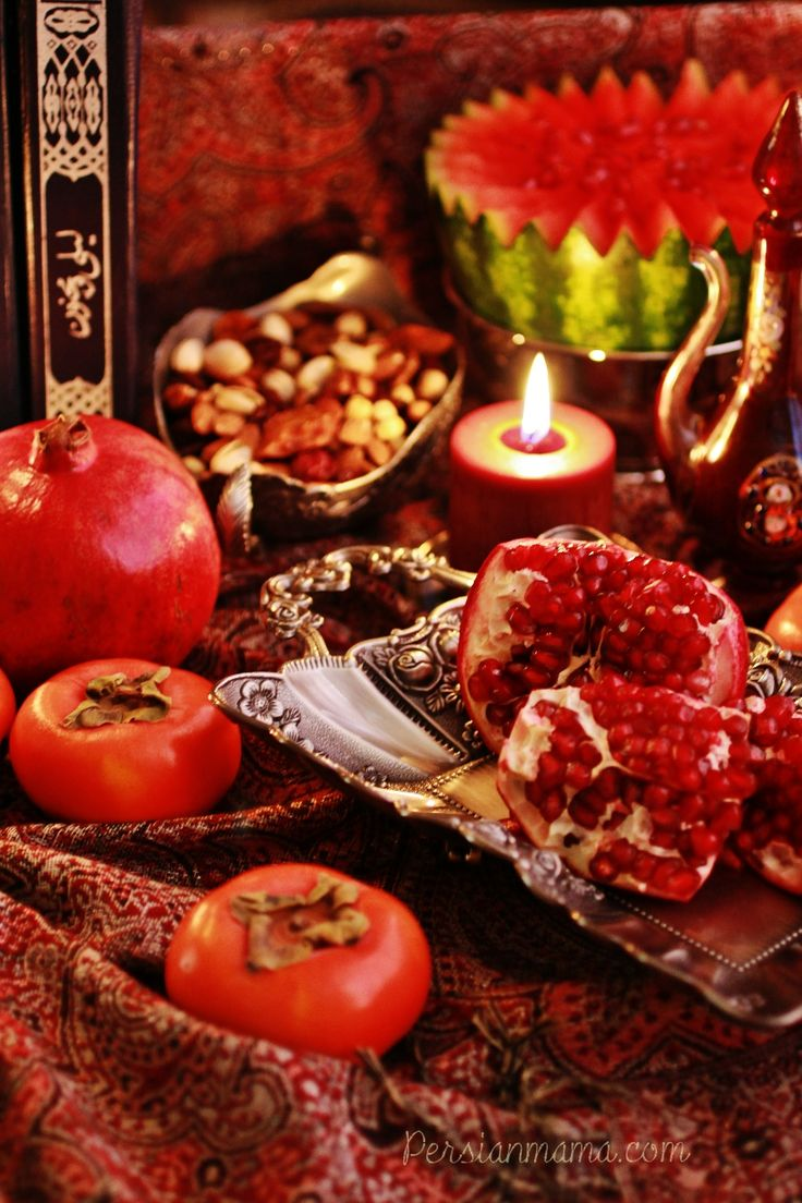 Shabe Yalda is an ancient Persian celebration that marks the longest night of the year and victory of sun over darkness