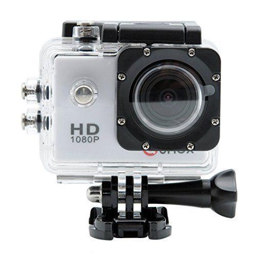 QUMOX Actioncam SJ4000, Action Sport Kamera Camera Waterproof, Full HD, 1080p Video, Helmkamera, Weiß - http://kameras-kaufen.de/qumox/weiss-qumox-actioncam-sj4000-action-sport-kamera