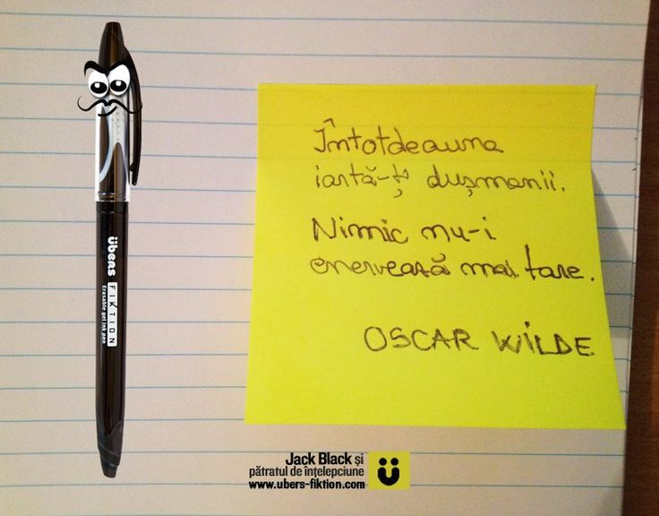 """""""Intotdeauna iarta-ti dusmanii. Nimic nu-i enerveaza mai tare."""" Oscar Wilde  #quotes #citate #oscarwilde"""