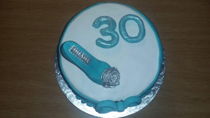 30th birthday cake