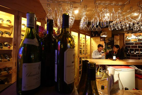 In Seoul you can always find great international food. Fox Wine Bistro in Itaewon has more than 400 wines on the menu.
